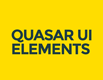 Quasar UI Elements