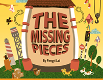 "Children Picture Book ""The Missing Pieces"""