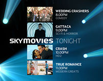 Sky Movies Promo Packaging