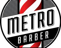 Metro Barber Logo
