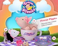 Hotsite Teacup Piggies - Xalingo Brinquedos