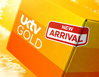 UKTV GOLD Promo Packaging