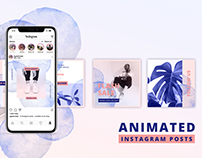 ANIMATED Instagram Posts – Bold Edition