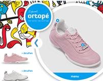 Ortopé - Hotsite coleção especial