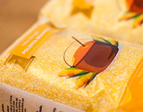 Polenta packaging