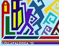 Lollapalooza T-shirt Design Entry