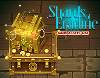 Shards of Eradine game - Pirate ship zone assets list