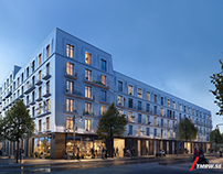 Gothenburg residential by White/Skanska