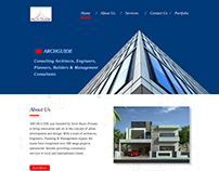Website development for an Architect Firm