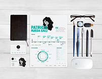 Graphic Design Resume | Currículum Diseño Gráfico