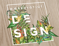 Print: A Sustainable Design Flyer for Verdens Skove