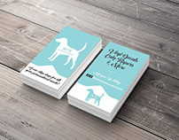 The Monogrammed Hound Logo and Business Card