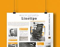 Infografía| LINOTIPO: MUSEO DE ARTES GRÁFICAS DE BOGOTÁ