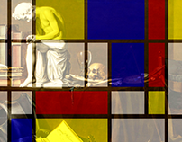 Mondrian-Claesz Gif animation in Photoshop