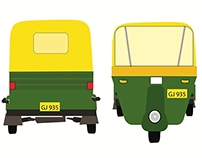 Ahmedabad Auto-Rikshaw