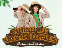Campaña Curso de Vacaciones Zoo