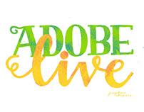 Adobe Live lettering