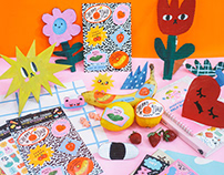 Liunic on Things Stationery Collection
