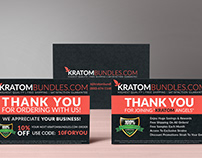 Thank You Card Design | KratomBundles.com