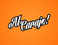 Al Carajo Bar - Branding