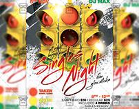 Singles Night Flyer - Club A5 Template