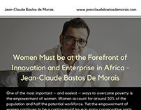 Women Must be at the Forefront of Innovation