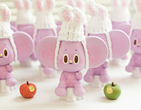 Purple rabbit starfy