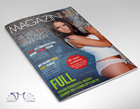 36 Pages Modern Magazine InDesign Template