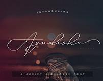 Ayudisha Font - A Script Signature Font