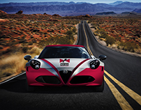 Wrapping 4C Alfa Romeo by POWER HORSE