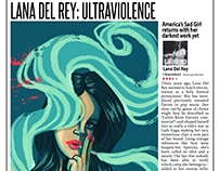 Ultraviolence - Mock Up Rolling Stone Review