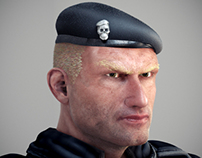 Captain Steiner - Portrait