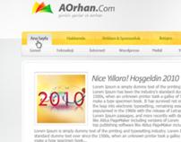 AOrhan.Com - Wordpress Theme Design