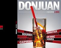 Libro para la preparación de cocteles Don Juan
