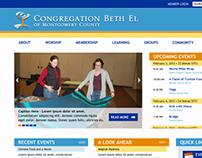Beth El of Montgomery County Web Design
