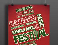 Llangollen International Musical Eisteddfod Poster 2009