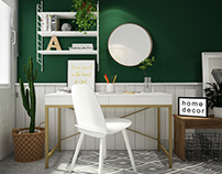 - Work space setup -
