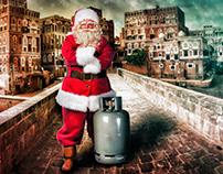 بابا نويل في اليمن 2019