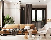 Дизайн квартиры в Замоскворечье