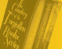 TYPOGRAPHIC BOOK COVERS