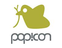 Pop!con Logo