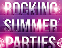 Rocking Summer Party Flyer