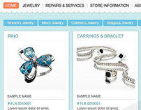 E commerce - Jewlery Website