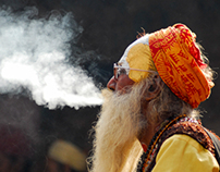 Maha Shivaratri festival starts with a smoking gun 2013