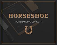 Horseshoe Pub Branding