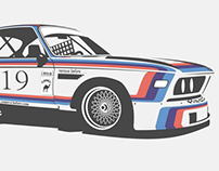 BMW CSL Turbo