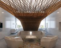 Concept-interior for small apartments