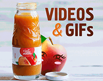 Facebook Cover Video and GIFs for juice brand Vita1000