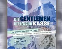 CD - Die Gentlemen bitten zur Kasse - Cover Design