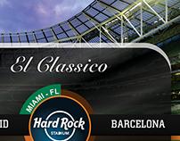 El Classico - Barcelona VS Real Madrid in Miami-FL USA